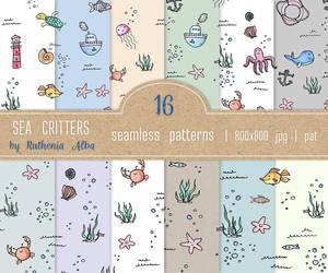 Texture Set #35: Marine Critters