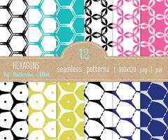 Texture Set #36: Hexagons