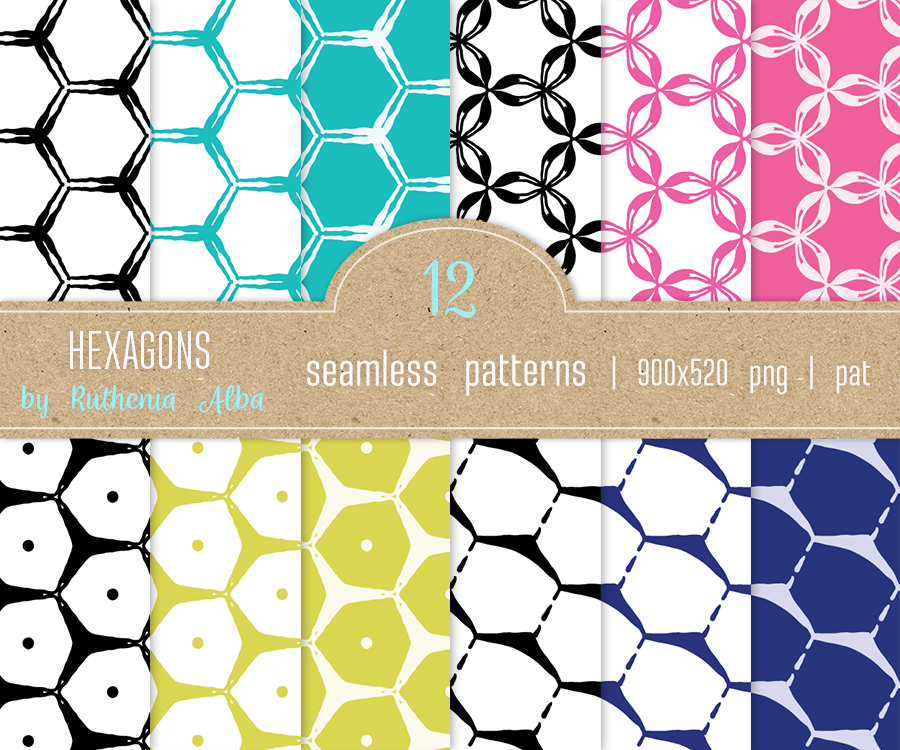Texture Set #36: Hexagons by Ruthenia-Alba