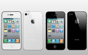 iPhone 4 + PSD by shapshapy