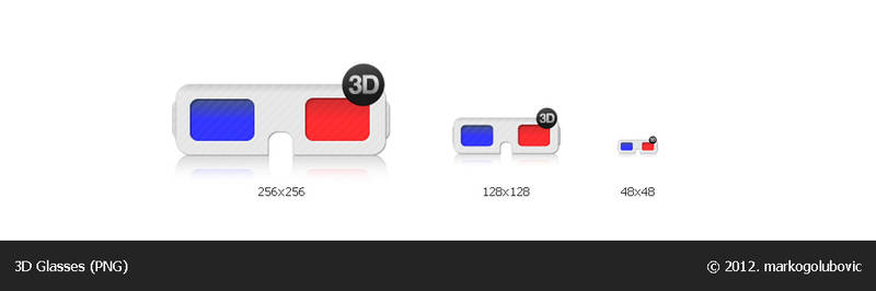 3D Glasses icon (PNG)