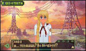 Pixel Art - ''Everlasting Summer'', Slavya