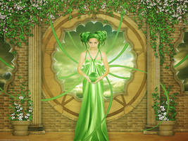 The green lotus by Funerium