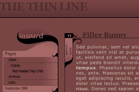 The Thin Line by kamelred