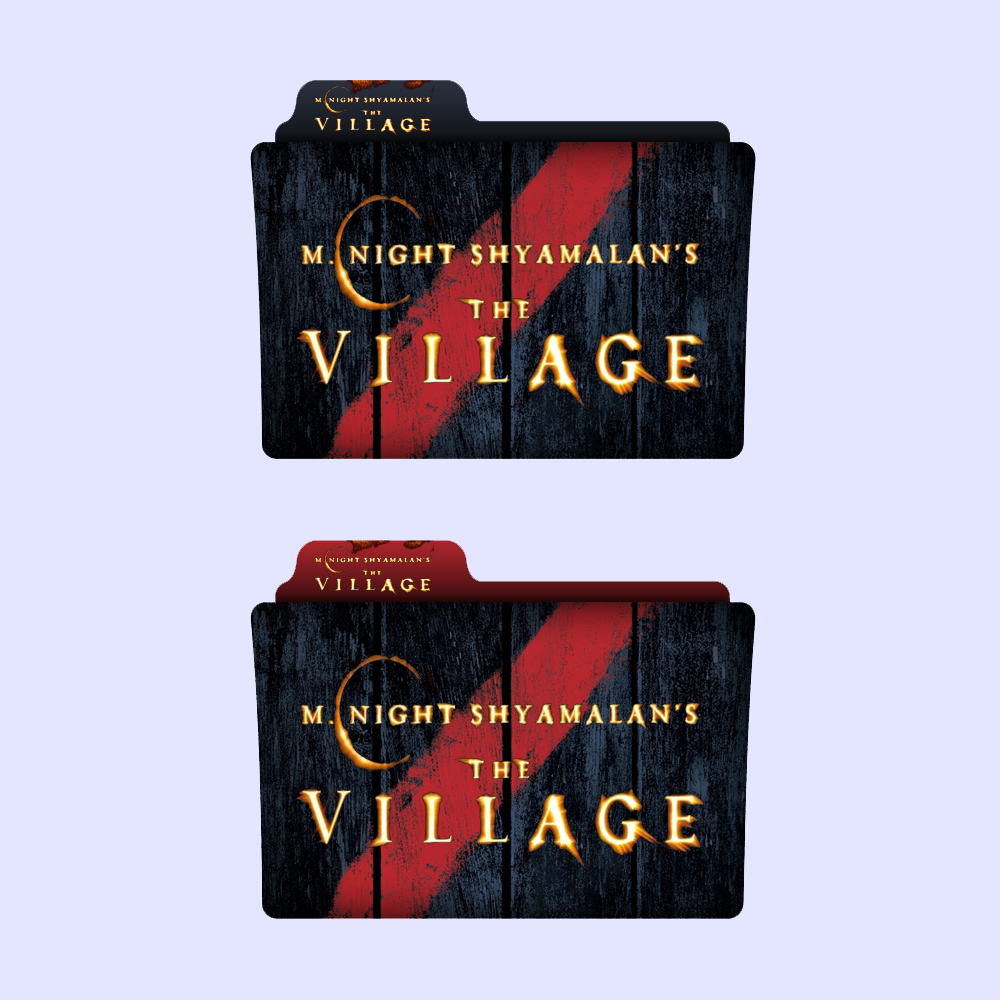 The Village Folder Icon by alacazain