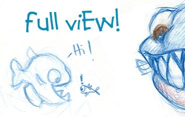 Little Fishies Beware. . . by Etoli