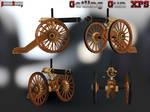 Gatling Gun XPS by panzerheavy