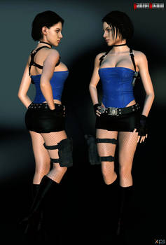 Jill Valentine - Classic with RE3 1998 style face