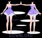 Purple Outfit + Download