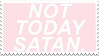 not today stamp by bakagummi