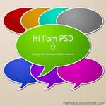 Chat Balloon PSD