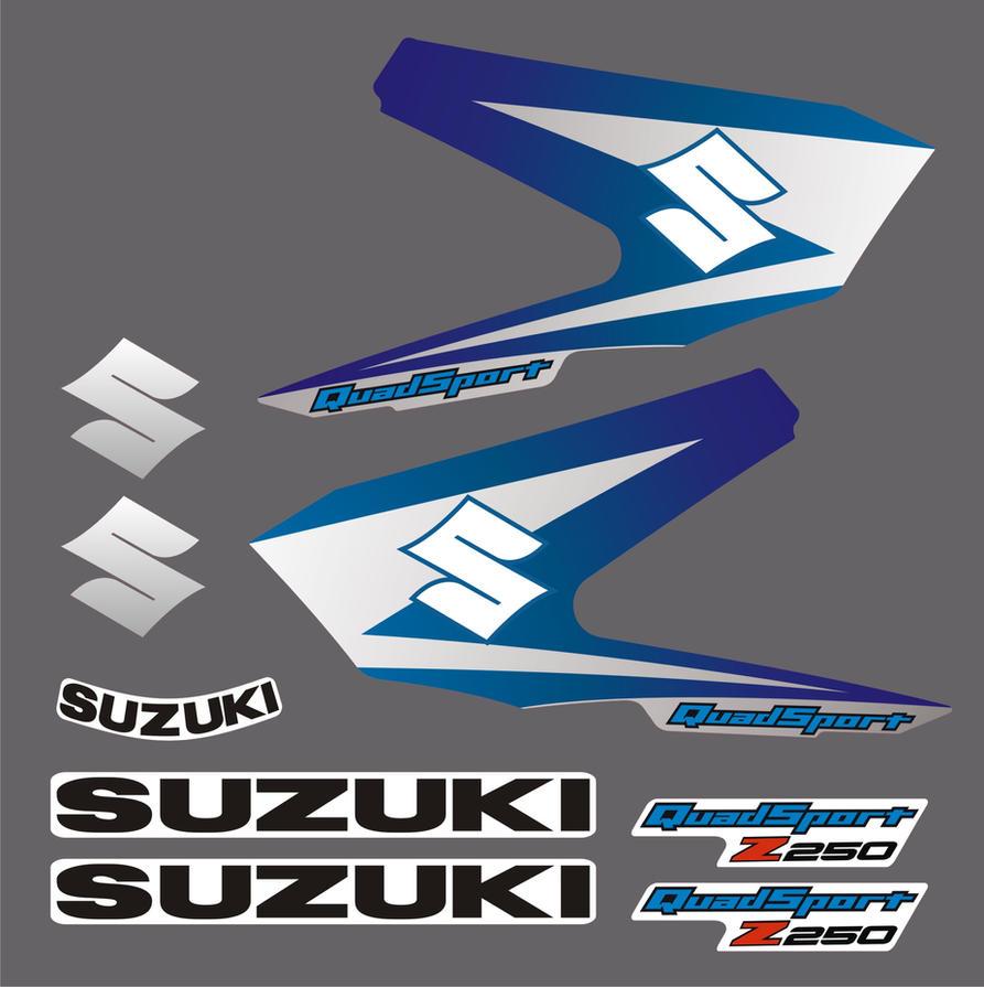 Suzuki LTZ 250 Quad Bike Decal Set PDF By JustinMain