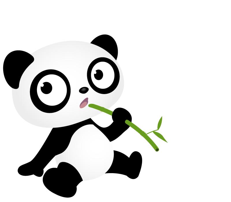 Panda cursor [Libre Uso] by Caramelozha