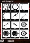 PS Brushes - Clock 001