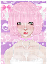 Kawaii Cat girl 3/3 by Hollena