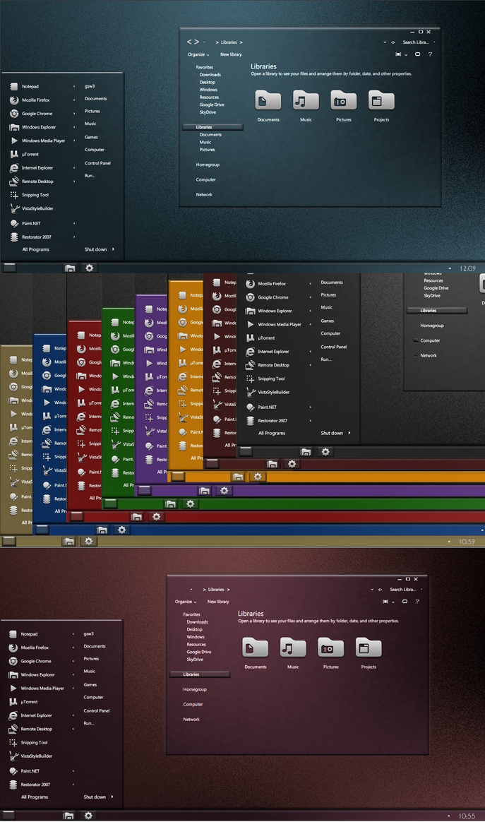 Future Series v1 for Windows 7