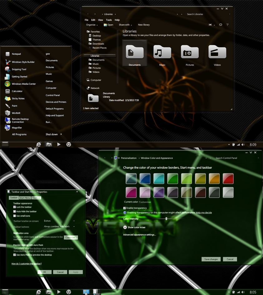 Just another Light theme-updated for Windows 7