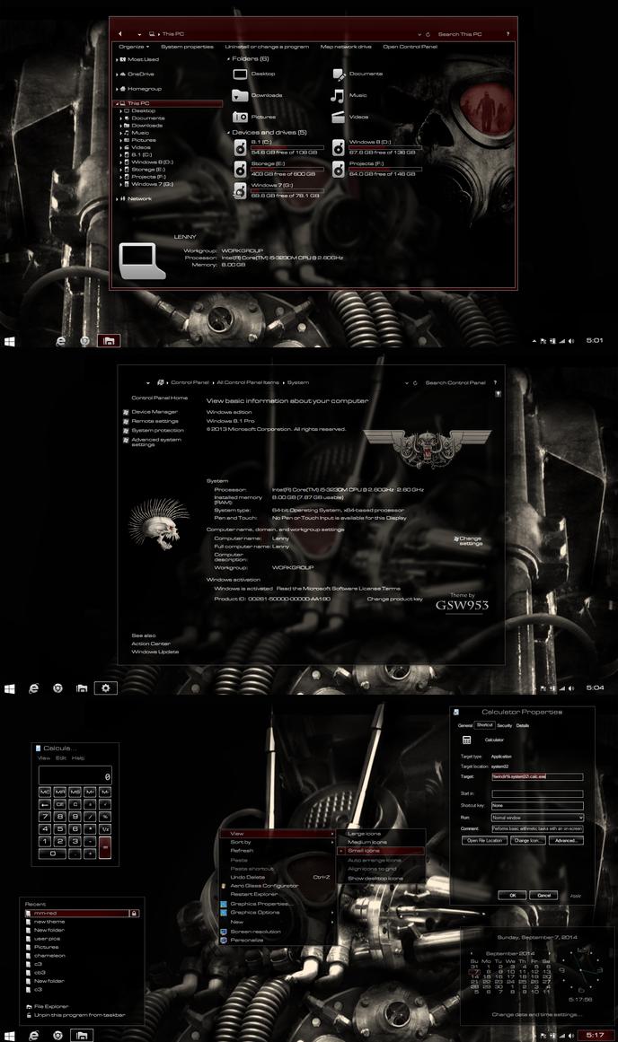 Mm-red theme for Win8/8.1
