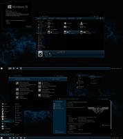 The Blue Theme for Windows 10 Anniversary Update by gsw953onDA