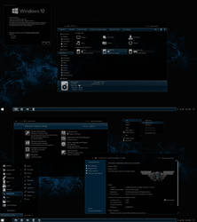 The Blue Theme for Windows 10 Anniversary Update