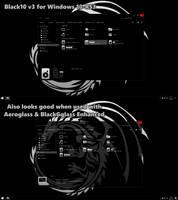 Black10-v3 for Windows 10 RS3 by gsw953onDA