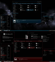The Red / Blue Themes For Windows 10 RS5 by gsw953onDA