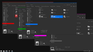 Gray10 Colour Bundle for Windows 10 RS5 by gsw953onDA