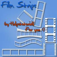 FilmStrips brushes by helpstutorial