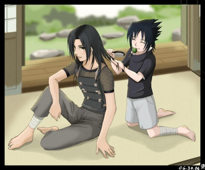 Itachi's sadness by Ed...