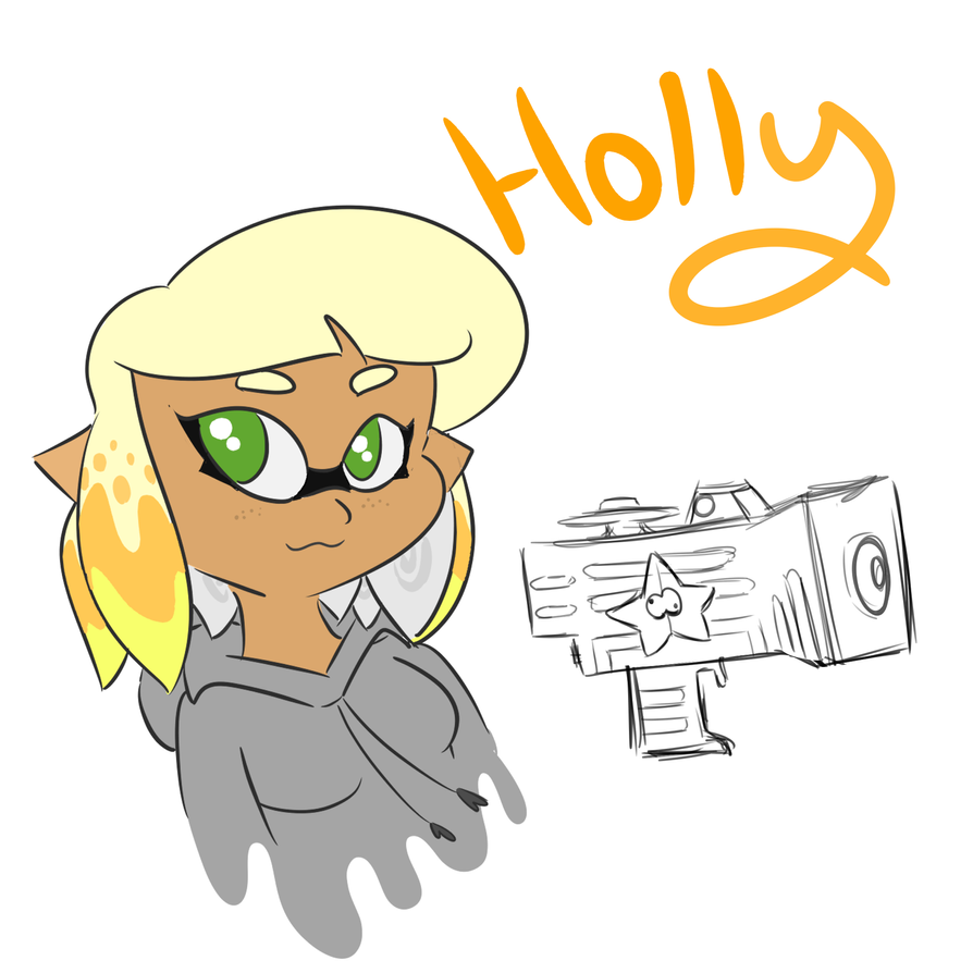 Holly! WIP by AmyKoopa