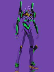 Evangelion Unit-01 by grazekai