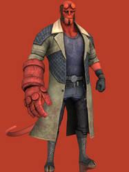 Hellboy by grazekai