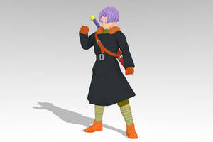 Trunks Time Patrol MMD DL