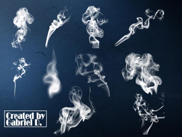smoke brushes by g-dufresne on DeviantArt
