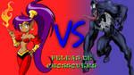 Shantae VS Venom by animacionespola