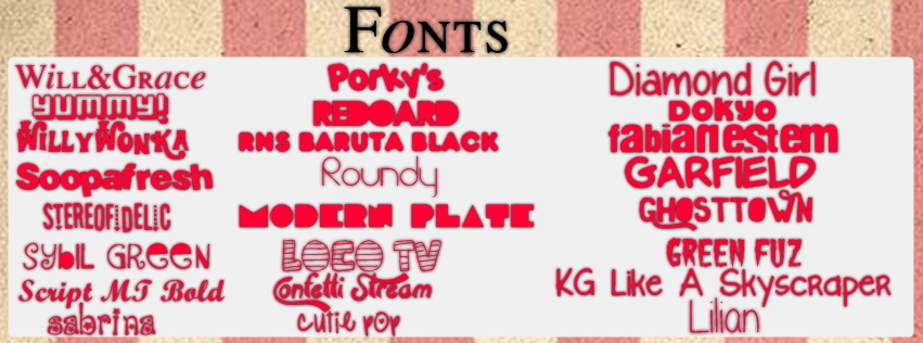 Download Pack de Fonts by Paayaasitaa on DeviantArt