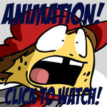 Animation: Ollie RAWR Colored