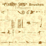 Cocaine Sans Font brushes