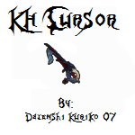 KH Cursor_WaytotheDawn by KuRiKo07