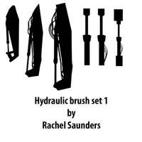 Hydraulic brush set 1
