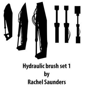 Hydraulic brush set 1