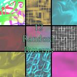 12 Random Patterns