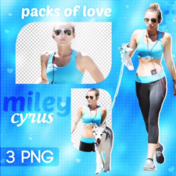 PNG PACK (72) Miley Cyrus by DenizBas