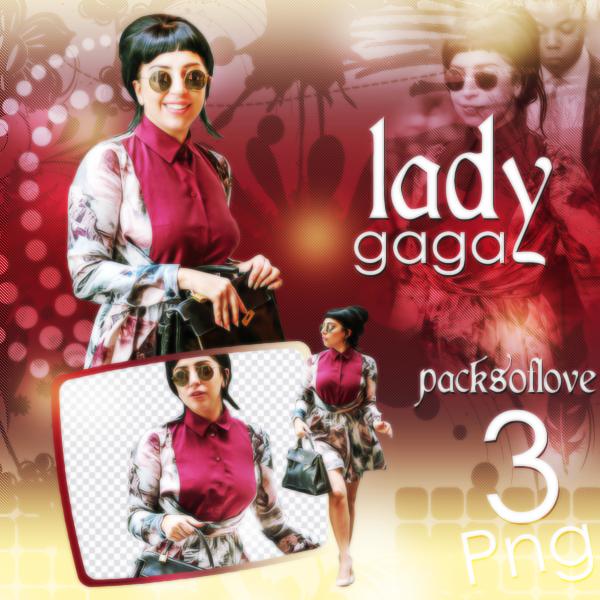 PNG PACK (80) Lady Gaga by DenizBas