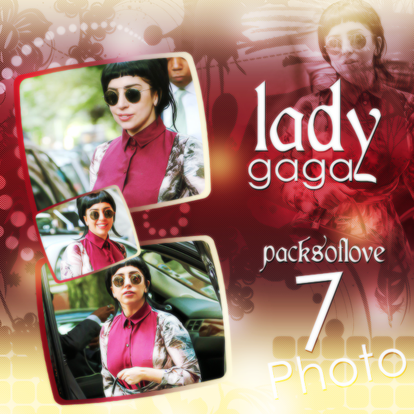 PHOTO Pack (32) Lady Gaga by DenizBas
