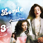 PNG PACK (96) Lorde