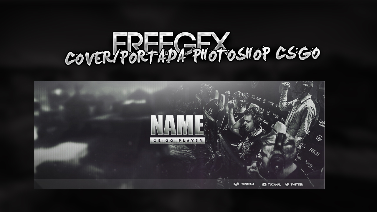 Facebook Cover Template CS:GO player by Angeldesign2011 on DeviantArt