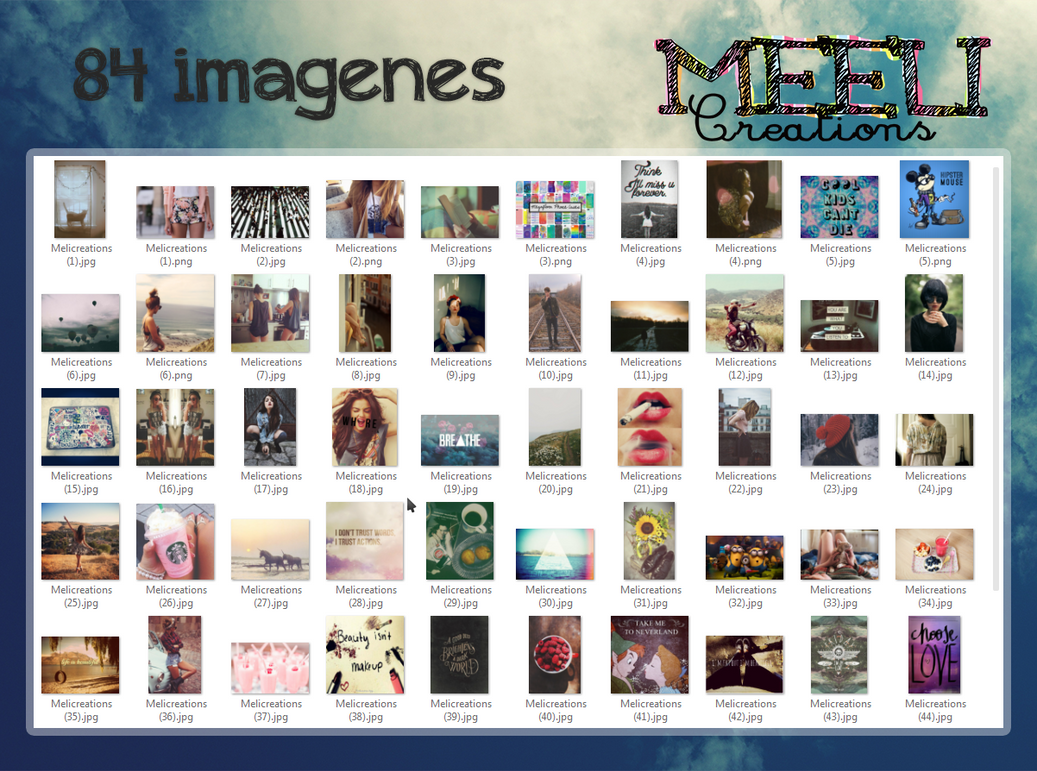 Imagenes para editar by MeliCreations