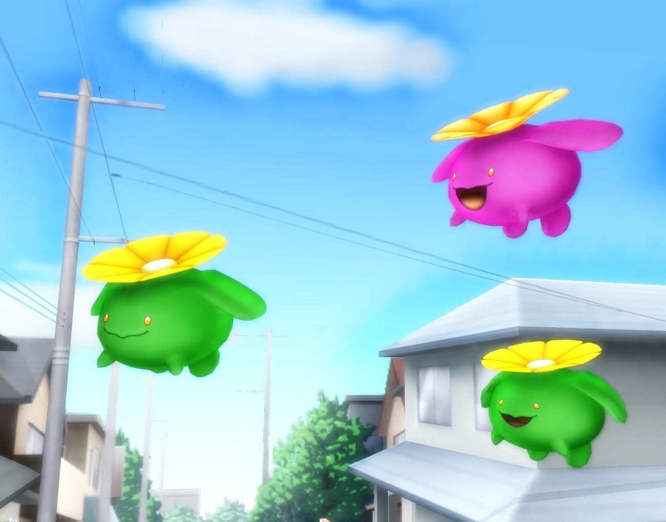 Pokemon Skiploom DL
