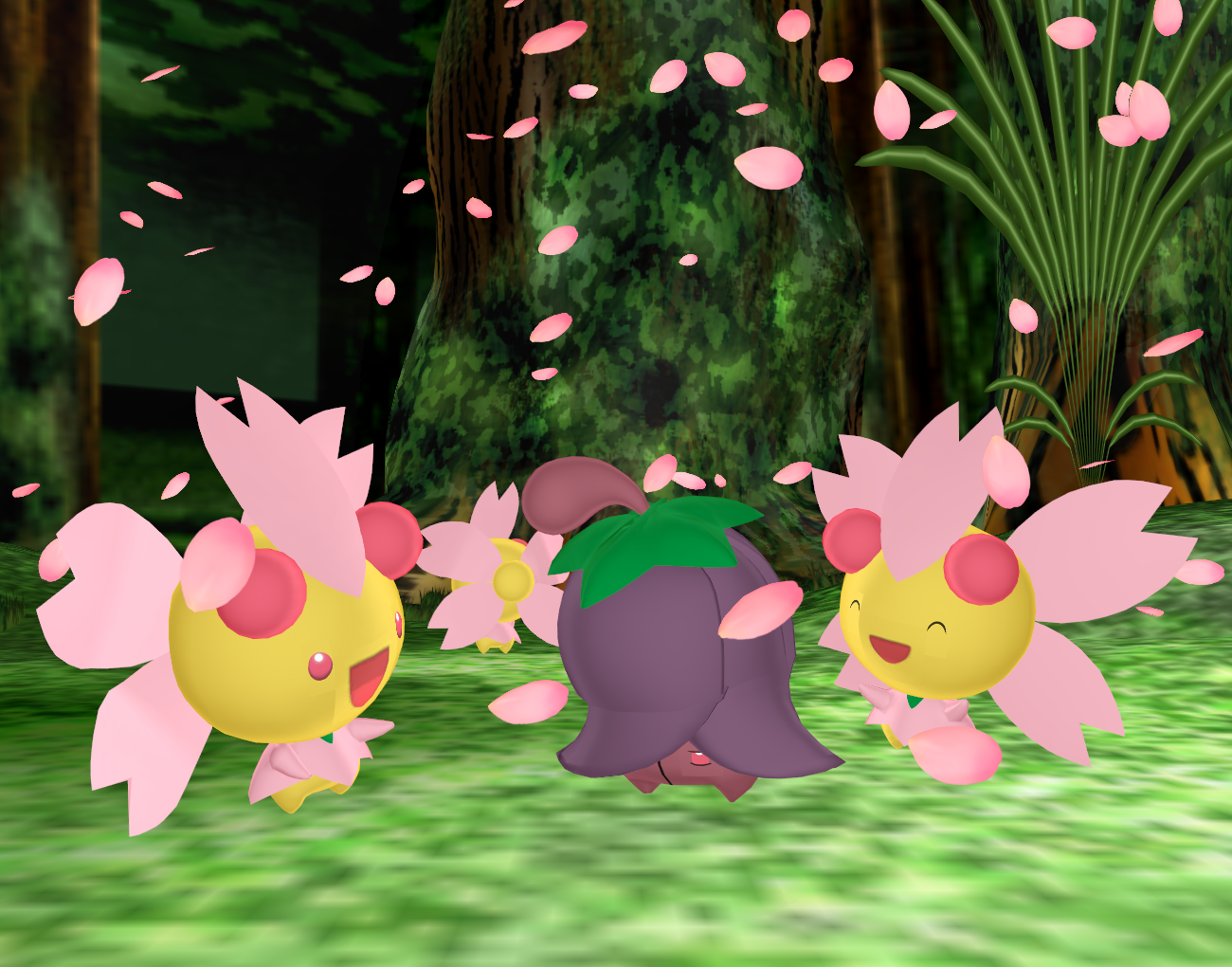 Pokemon Cherrim DL
